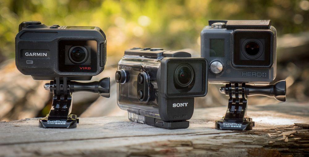 Andre kameraer, som for eksempel Garmins Vrib XE og GoPro Hero+ LCD gjør opp for en litt lavere videokvalitet med for ekstra sensordata (Garmin) og innebygget skjerm (GoPro).