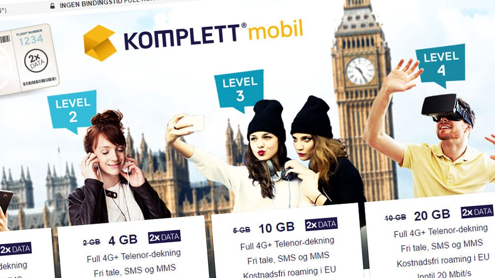 Nettbutikk blir mobiloperatør
