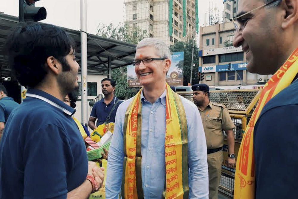 Apple valgte India for å forbedre kartene sine