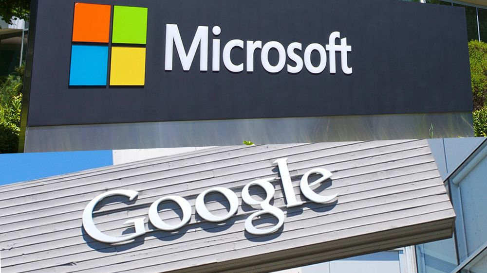 Microsoft og Google begraver stridsøksene
