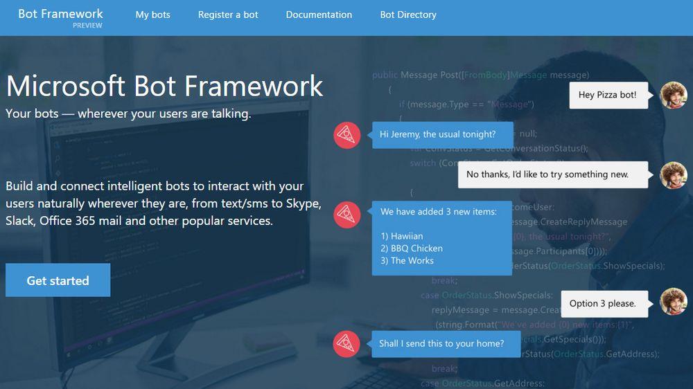Intelligente «chatboter» er det neste store fra Microsoft