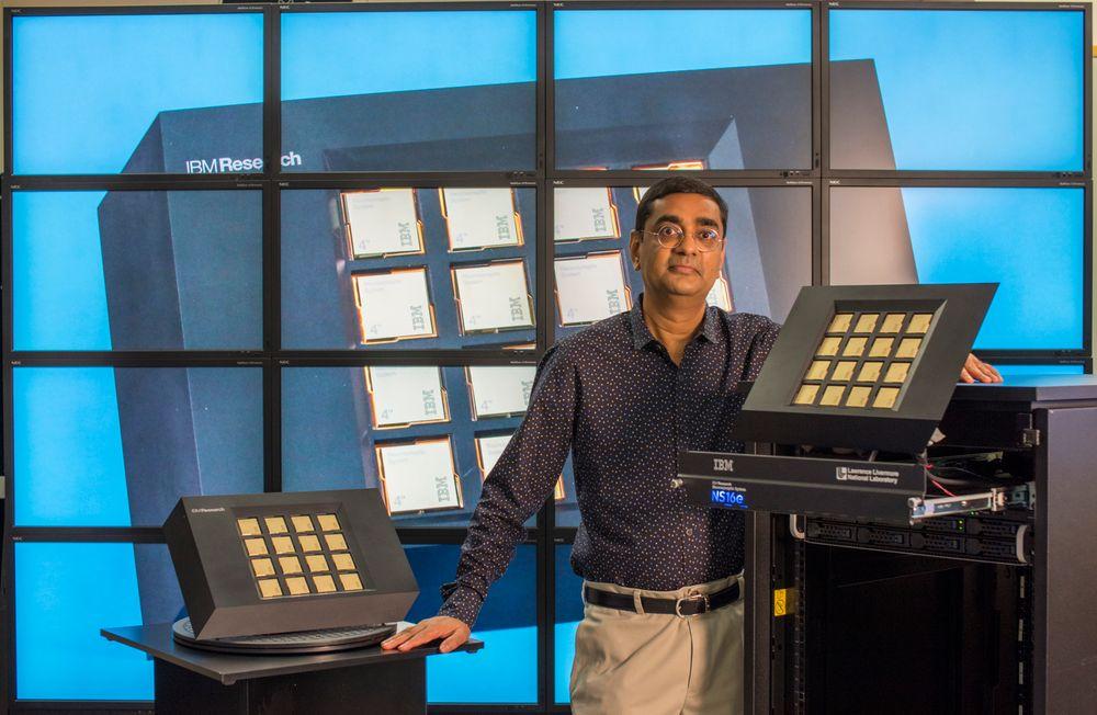 IBM bygger hjerneinspirert datamaskin