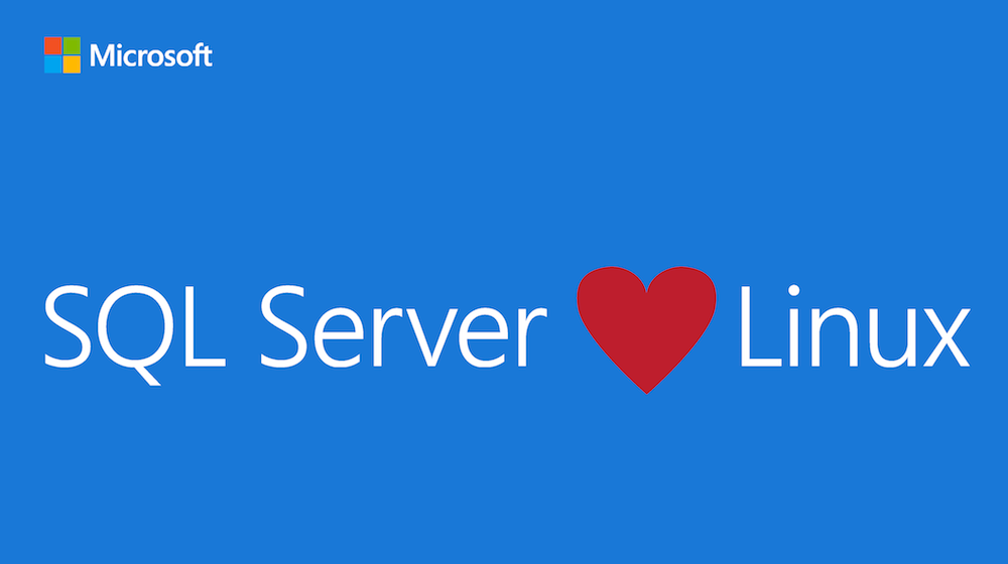 Microsofts SQL Server kommer til Linux