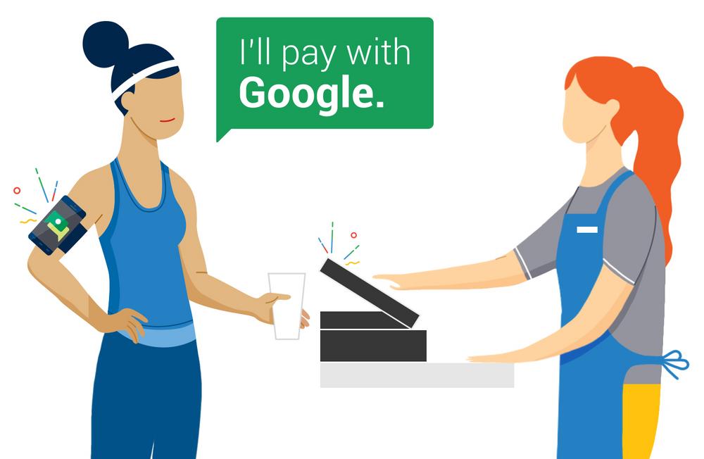 Behold mobilen i lomma mens du betaler