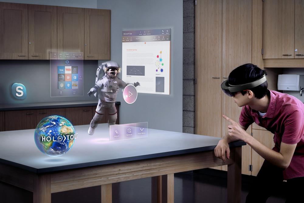 HoloLens er klar for utviklere
