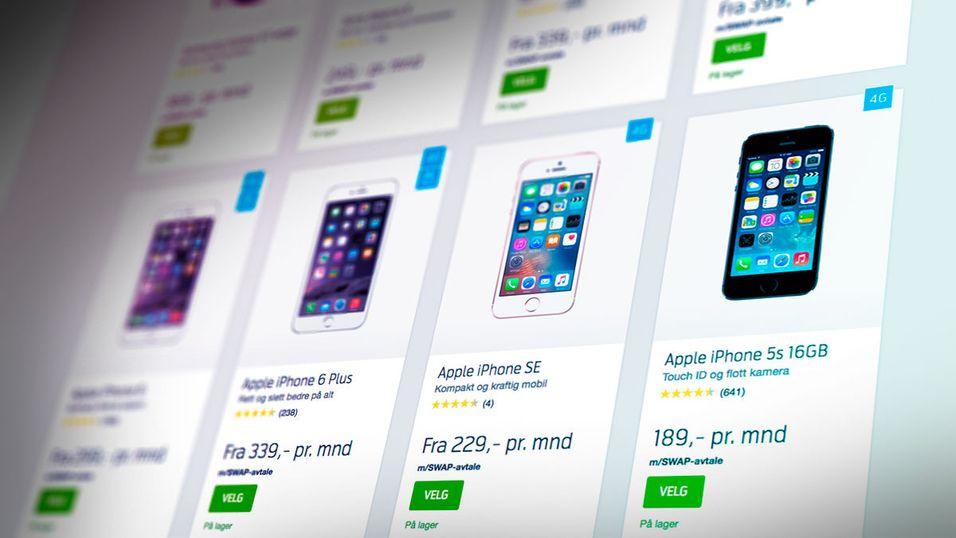 Så mye får Telenor for brukte mobiler fra Swap-avtalen