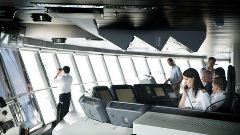 Norske cruiseskip jobb