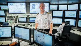 Kroaten Ivo Marenc er maskinsjef om bord på Harmony of the Seas.