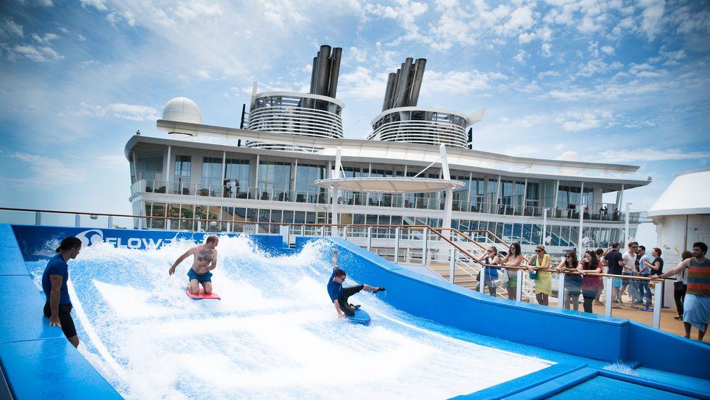 Cruiseskipene øker i størrelse for å få plass til enda flere aktiviteter for publikum.