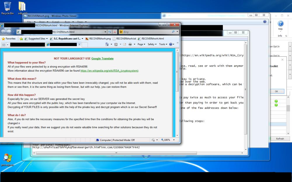Vellykket omgåelse av Microsoft EMET med utpressingsvaren TeslaCrypt.
