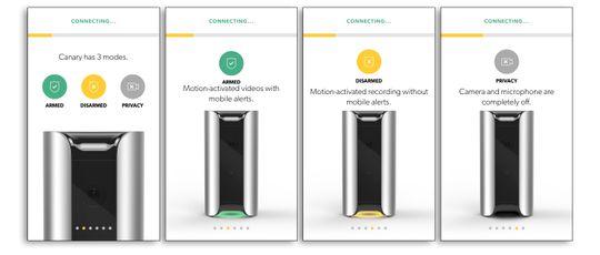 Canarys tre ulike modus.