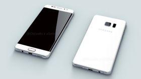 Snapdragon 821 vil kanskje først dukke opp i Galaxy Note 7, som ifølge tidligere lekkasjer vil se slik ut.
