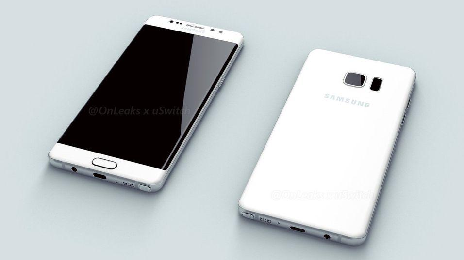 Galaxy Note 7 kan allerede ha fått europeisk pris. Slik ser mobilen ut, ifølge tidligere lekkasjer.