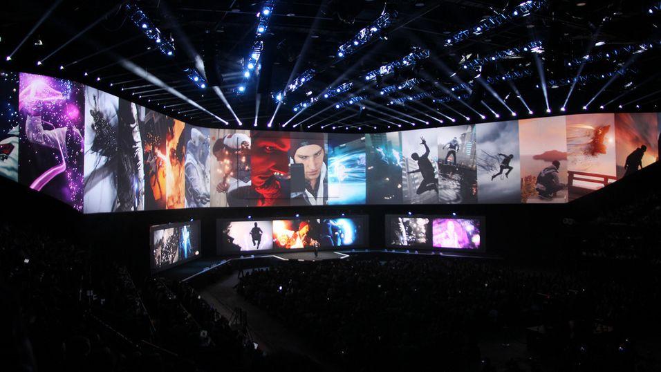 Sonys konferanse under E3 2014.