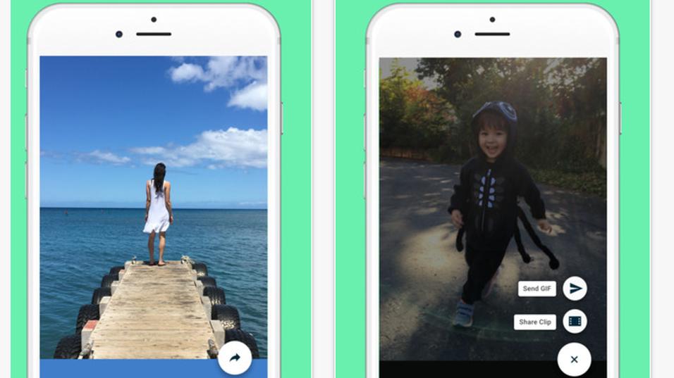 Den nye Motion Stills-appen fra Google.