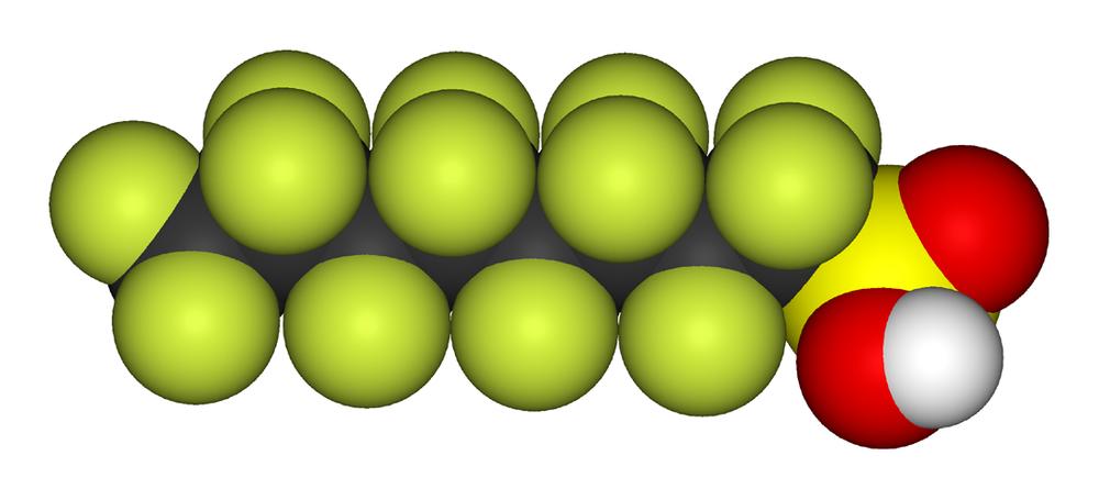 Perfluoroktylsulfonat (PFOS) er en giftig perfluorert organisk forbindelse som ikke nedbrytes i naturen. Stoffet har vært mye brukt i brannskum, men har vært ulovlig siden 2007.