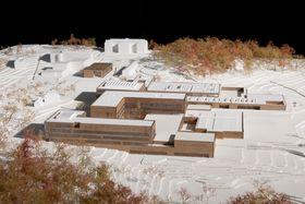 Det skal til sammen bygges 61.300 kvadratmeter på tomta, som er drøye 60 mål.