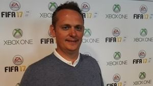 Senior-produsent for FIFA-serien, Nick Shannon.