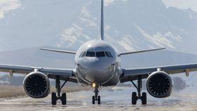 A320 Neo-testfly med CFM-motorer.