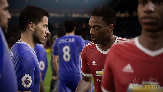 To av FIFA-seriens nye maskoter. Eden Hazard og Anthony Martial.