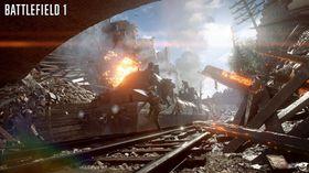 I Battlefield 1-betaen får spillere blant annet prøvekjøre et pansret tog.