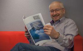 Administrerende direktør, Jan Erik Svensson, i skyselskapet Artic Circle Data Center har finansiellstøtte fra Mo Industripark.