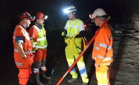 Dersom resultatet fra testen i Ryfast er vellykket, vil Vegvesenet vurdere å ta i bruk seismikkteknologi for å drive tunnelen i Rogfast-prosjektet. .