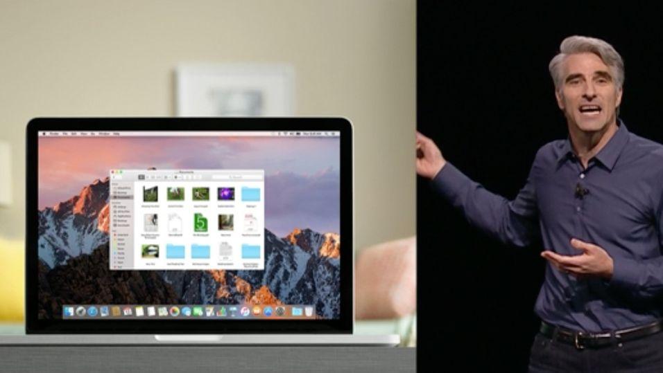 Apple endrer navnet på OS X til macOS.