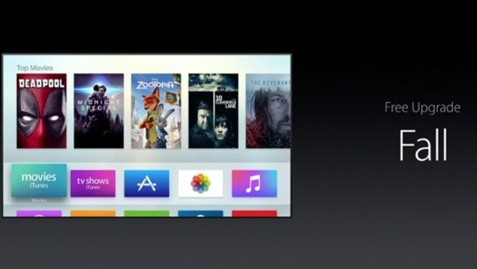 Apple TV får seg en stor oppdatering når høsten kommer. Blant annet har Apple endelig laget en fjernkontrollapp som støtter den nye TV-boksen.