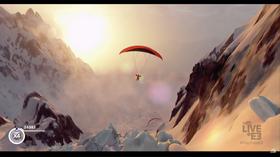 Paragliding over Alpene ser jo faktisk ganske fredfullt ut.
