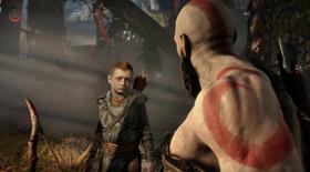 I spillet møter vi Kratos' sønn.
