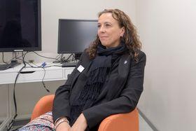 Samarbeider med OCC. Assisterende rektor Ester Eriksen noterer med stor tilfredshet at antallet samarbeid mellom skolen og forskning og næringsliv øker raskt.