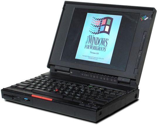 IBM Thinkpad fra 90-tallet etablerte mange av dagens designprinsipper.