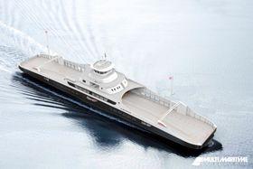 Multi Maritime har designet batterifergene for Fjord1.