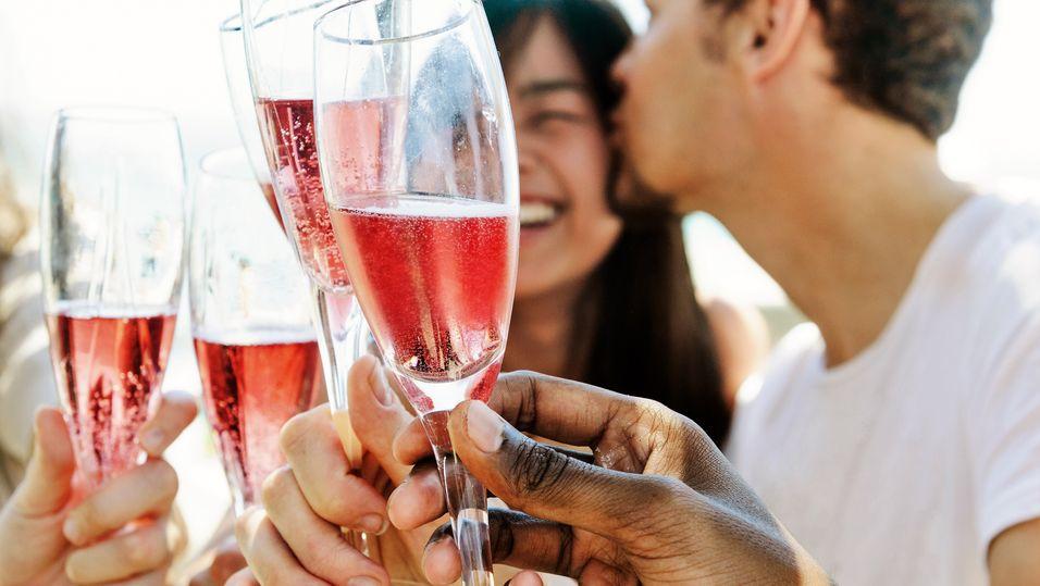 TEST: Rosa bobler må ikke nødvendigvis være champagne