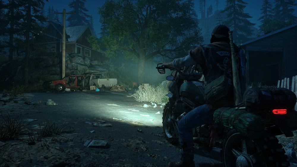 Deacons motorsykkel spiller en viktig rolle i spillet.