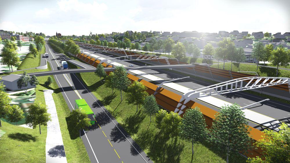 Utbyggingen av E18 Vestkorridoren er et av prosjektene som har hatt en voldsom kostnadsøkning siden det først ble presentert.