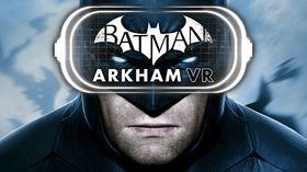 I Batman: Arkham VR skal du være detektiv og løse en mordgåte.