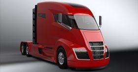 Foreløpig er Nikola One-trekkvogna kun en papirbil. En prototyp skal vises fram i Utah om et halvår.