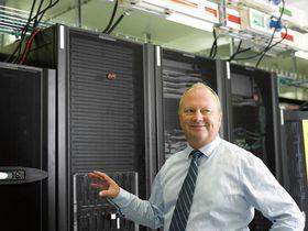 Administrerende direktør, Knut Molaug, i Green Mountain sier at dataanlegget utenfor Stavanger bruker like mye strøm som en middels stor norsk by.