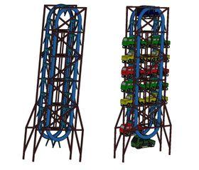 Den vertikale løsningen er tenkt å bygges ned i bakken, men skal også kunen fungere over bakkenivå.