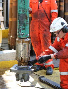 Her testes Afterburner for første gang offshore, på VNG's brønn, Boomerang.
