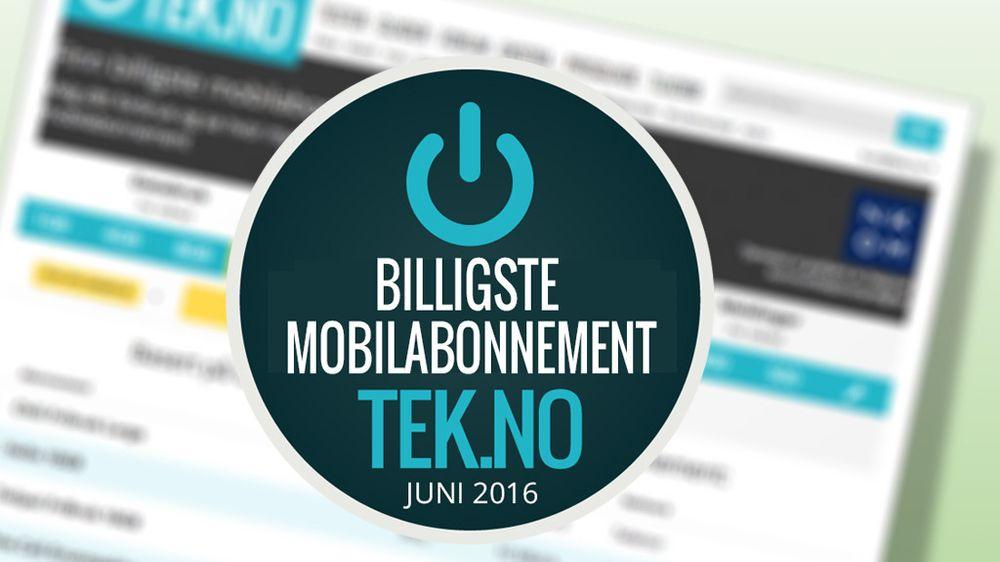GUIDE: Her er månedens billigste mobilabonnementer