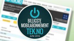 Her er månedens billigste mobilabonnementer