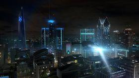 Handlingen i spillet foregår i fremtidens Detroit.