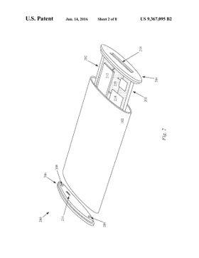 Apple ser tydeligvis for seg at mobilen kan åpnes ved at innmaten «dras» ut av skjermdelen. Tegningen er hentet fra patentdokumentet.
