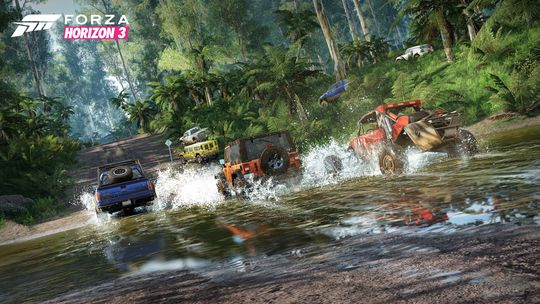 Fart og spaning i Forza Horizon 3.
