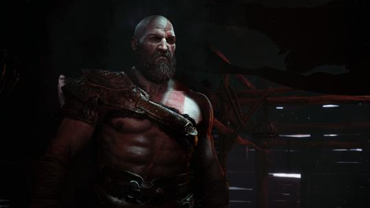 Kratos har blitt voksen og skjeggete i nye God of War.