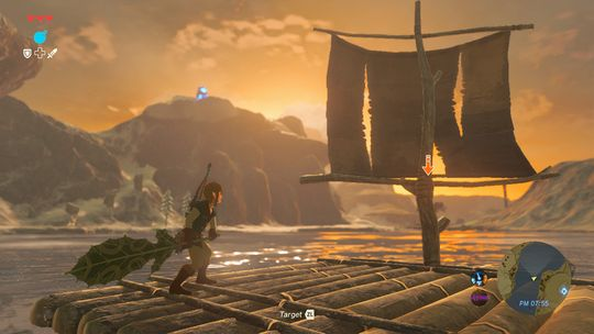 Garantert en direkte referanse til det første Zelda-spillet.